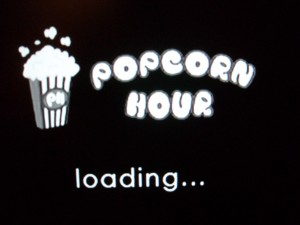 It was great seeing the Popcorn Hour logo show up.
